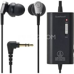 Audio-Technica ATH-ANC3 QuietPoint Active Noise Canceling Headphones ANC23 TOP RATED