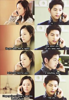 This silent conversation broke my heart, both of them wouldn't speak and just said these things in their head :'(