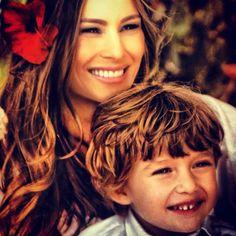 Melania and Donald's son, Barron.