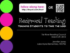 Reciprocal Teaching is structure for teaching students to comprehend text with teacher support, eventually leading to independence. Comprehension Strategies, Reading Strategies, Reading Comprehension, Student Teaching, Teaching Reading, Teaching Tools, Reciprocal Reading, Classroom Inspiration, Classroom Ideas