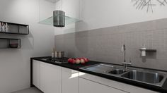 Kitchen detail rendered with DomuS3D and mental ray