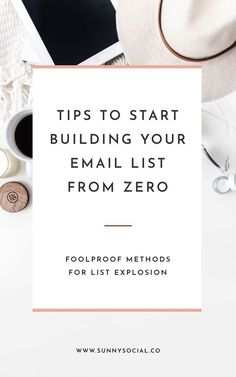 Your Intro to Email Marketing - Email Marketing Inspiration - - Email Marketing Why You Need It & Tips To Get Started Sunny Social convertkit email marketing digital marketing mailchimp constant contact email list list building