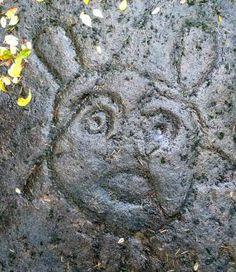 gabriola-petroglyph,B.C.