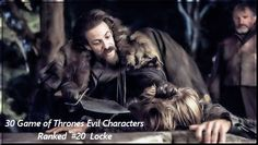 Game of Thrones top 30 villians, ranked.  https://www.cnet.com/pictures/20-most-evil-game-of-thrones-characters-ranked/