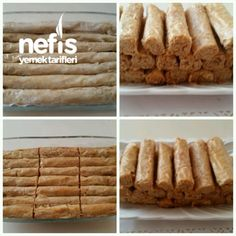 Crispy Rolls with Tahini (Excellent), Cookie Recipes Crispy Rolls, Tahini, Tea Time, Cookie Recipes, Banana Bread, Deserts, Dinner Recipes, Food And Drink, Cookies