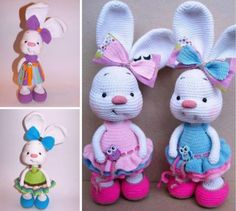 Bunny Crochet Free Pattern Video