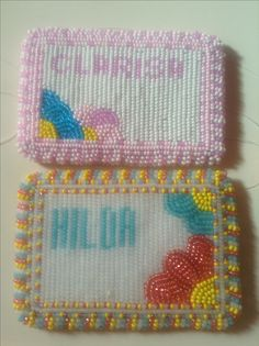 AN ORDER/SOLD!! :) Card Holders, Pot Holders, Tiffany, Coin Purse, Bead, Purses, Wallet, Cards, Handbags