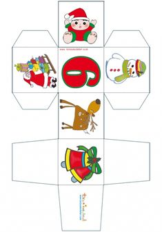 Paper Toy, Games, Christmas, Kids, Word Search, Puzzles, Cubes, Mothers Day Crafts, Block Play