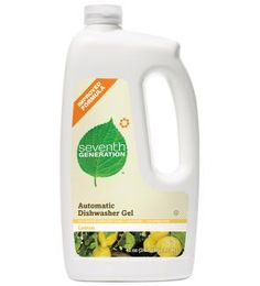 we have gone green in our house with the exception of the dishwasher detergent till yesterday. Everything else I use 7th Generation works amazing, especially the laundry soap and fabric softener so I tried this for our dishes and it works better than any dish detergent I've used. No chemical residue and actually cleans the dishes!! I love the dish soap not sure why I didn't try it before.
