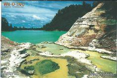 Sent from Madicken in BRUNEI (but postcard from NZ)