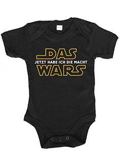 Das Wars jetzt hab ich die Macht ShirtStreet Strampler mit Motiv Bio Baumwoll Baby Body kurzarm M/ädchen