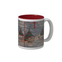 Polar Bear Mug http://www.zazzle.com/polar_bear_mug-168315650357985370?rf=238271513374472230  #christmas  #homedecor  #christmasideas