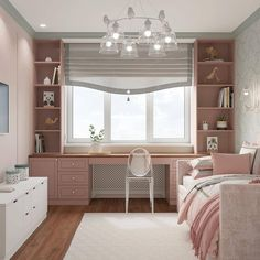 Pic 75 stunning ideas for girls bedroom that you must have page 17 Dream Rooms, Girl Bedroom Designs, Home Room Design, Kid Room Decor, Room Ideas Bedroom, Home, Home Office Design, Bedroom Design, Home Decor