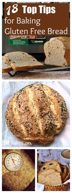 18 Tips for Gluten Free Bread Baking - Gluten free recipes - gfJules - with the REAL Jules