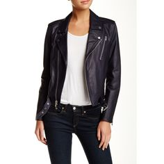 --evaChic--This Theory Sahral Leather Biker Jacket is a high-end wardrobe basic and the perfect layering piece in transitional weather. Fashionistas combine it with both athleisure/casual and dressier looks, including maxi dresses. The brand is known for sleek design and high quality materials, ideal for the urban closet.       https://www.evachic.com/product/theory-sahral-leather-biker-jacket/