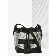 Snake City Bucket Bag (435 ZAR) ❤ liked on Polyvore featuring bags, handbags, shoulder bags, snake skin purse, python purse, zipper purse, bucket shoulder bag and snakeskin purse