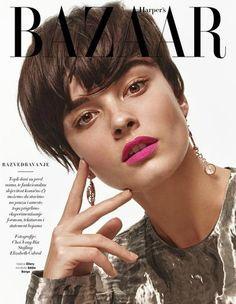 Crystal Renn for Harper's Bazaar Serbia May 2016