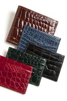 #trafalgarstore #wallets #alligator #exotic #style #sleek #modern
