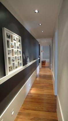 Casi todos contamos con pasillos estrechos y sin luz en casa, así que este post está lleno de ideas geniales.