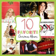 Ten Favorite Christmas Albums
