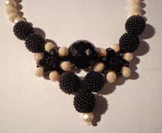 #beadedbeads, #necklace, #beadedballs