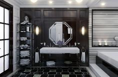 Фотография: Ванная в стиле Классический, Интерьер комнат, Проект недели, мария иванова, дизайн санузла, детская ванная комната, павел иванов – фото на InMyRoom.ru