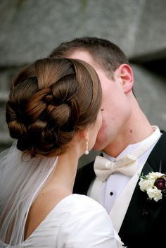 Gorgeous and intricate updo. love it.