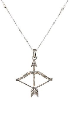 Feathered Soul #Bow&Arrow Necklace - Necklaces - 504745623
