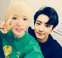 wendy x chanyeol. Korean Couple, My Prince, My Boyfriend, Chanyeol, Otp, Red Velvet, Funny Memes, Barbie, Ships