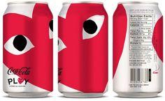 Diet Coke and Comme des Garçons PLAY