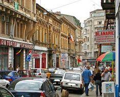 Turist în București: Strada Franceza - Centrul Vechi - Bucuresti Romania People, Street View, Bucharest