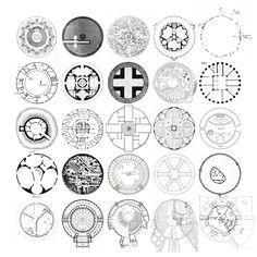 25 CIRCLE PLANS