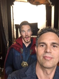 Mark Ruffalo and Benedict Cumberbatch