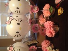 Hello kitty centerpiece