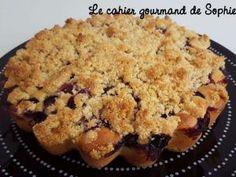 Crumb cake à la myrtille
