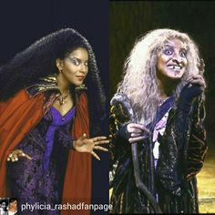 Phylicia rashad in Into the Woods ( 1988) as the witch.