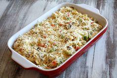 Chicken Spaghetti Casserole 16