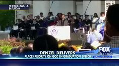 Denzel to College Grads: 'Put God First in Everything You Do'. Good advice, Denzel. :)