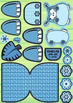 Nijlpaard knutselen met kleuters / hippo craft preschool