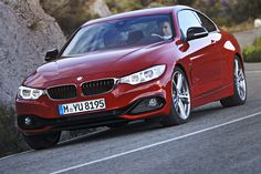 2014 BMW 4-Series. Sport Line in Melbourne Red.