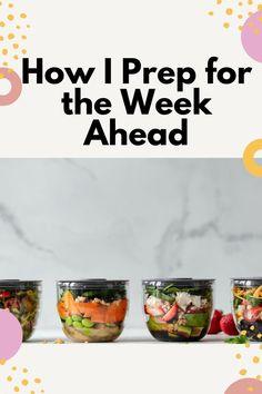 How I prep for the week ahead #motivation #mealprep #preperation #momtips #baby #toddler #momlife #inspiration