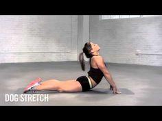 Nike Training Club with Shawn Johnson: Dog Stretch