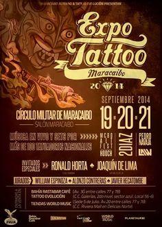 Cresta Metálica Producciones » Confirmados los artistas musicales y se anuncia la boletería de la Expo Tattoo Maracaibo 2014