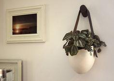 Decorating With Houseplants via Lonny