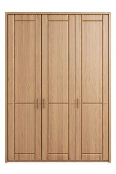 Next Elmsmore Medium Hinged Wardrobe Oak Wardrobe, Luxury Wardrobe, Wardrobe Storage, Wardrobe Closet, Wardrobe Design, Belt Rack, Solid Oak Doors, Wood Hinges, Bedroom Cupboards