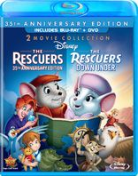 The Rescuers / The Rescuers Down Under (Blu-ray)