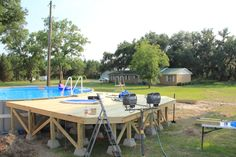 intex pool with deck | New Intex 26' Ultra Frame Owners • Above Ground Pools - Page 2 ...