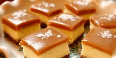 Salted Caramel Cheesecake Squares