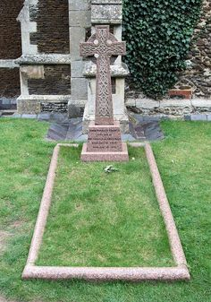 The Lost Prince's Grave. St. Mary Magdalene Church, Sandringham-Norfolk. The Prince John (John Charles Frances; 12 July 1905-18 Jan.1919) The youngest son of King George V and Queen Mary. The prince had epilepsy and consequently was hidden from the public eye.