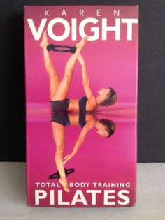 Karen Voight - Total Body Training Pilates (VHS, 2002)